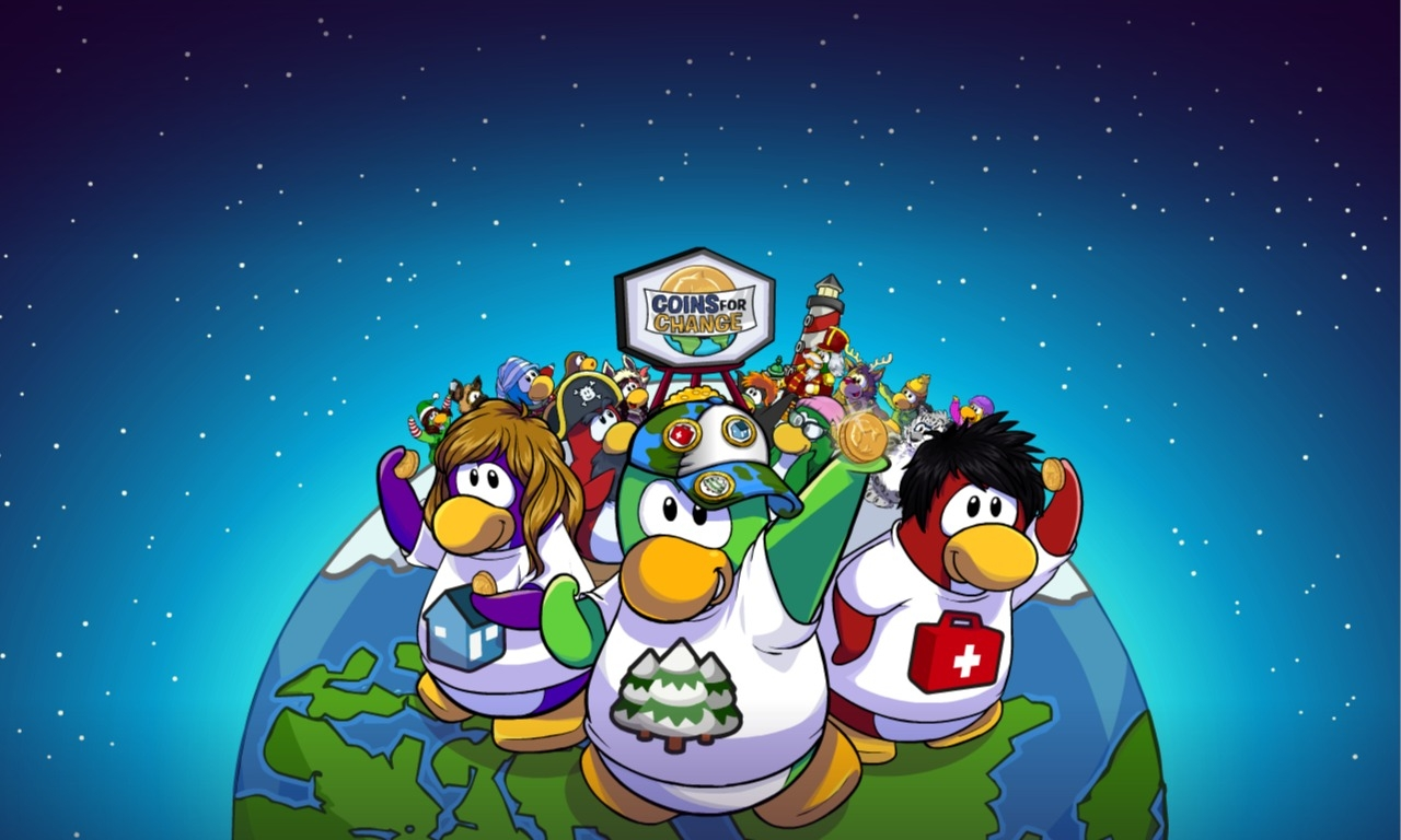 Club A Penguin Flash Game