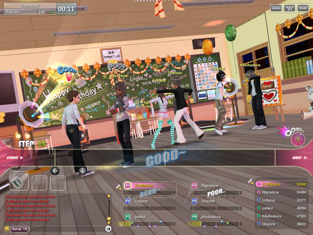 dancing games online