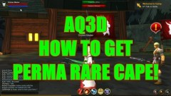 AQ3D How To Get A Perma RARE Cape! AdventureQuest 3D - YouTube