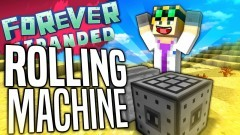 Minecraft - ROLLING MACHINE - Forever Stranded #52 - YouTube