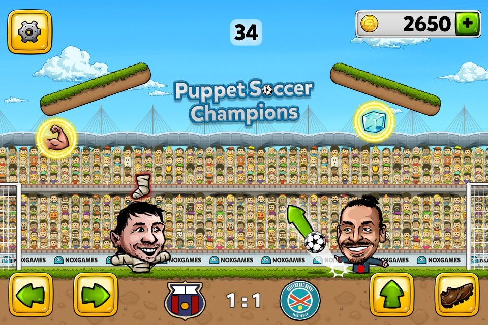 Puppet Soccer Champions - Online Game of the Week