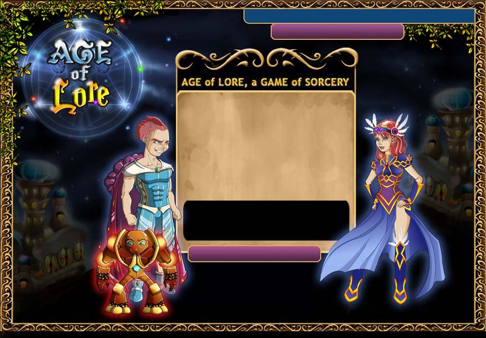 Age Of Lore is a free online magic role-playing game. This free game lets  you become a magician in an MMORPG of sorcery and magic.