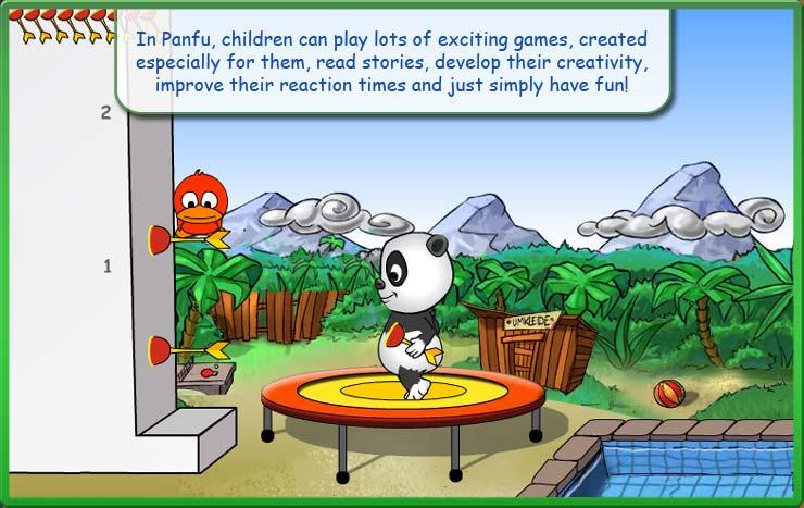 panda online game