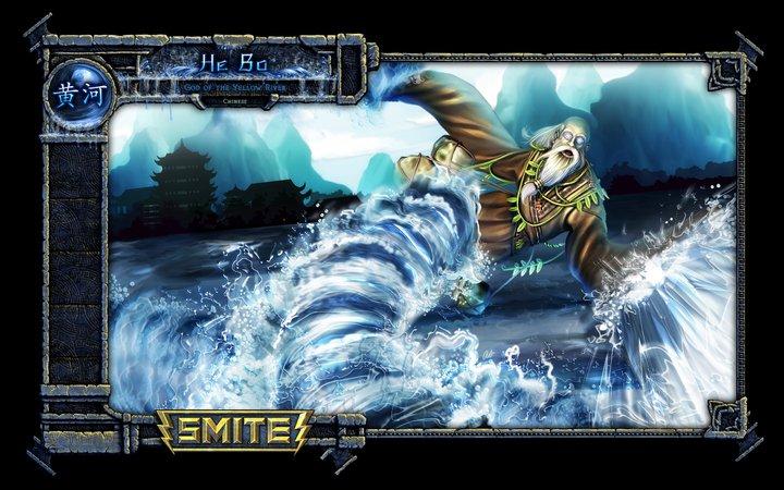 free-to-play online battleground between gods. DoTA-inspired but 3rd