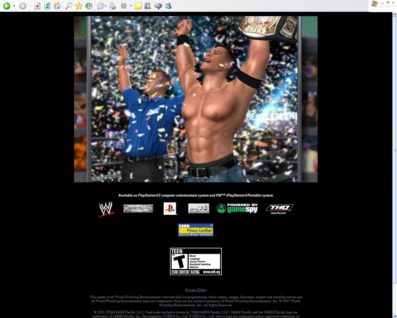 WWE Smackdown vs. Raw 2006 : Online Games Review Directory