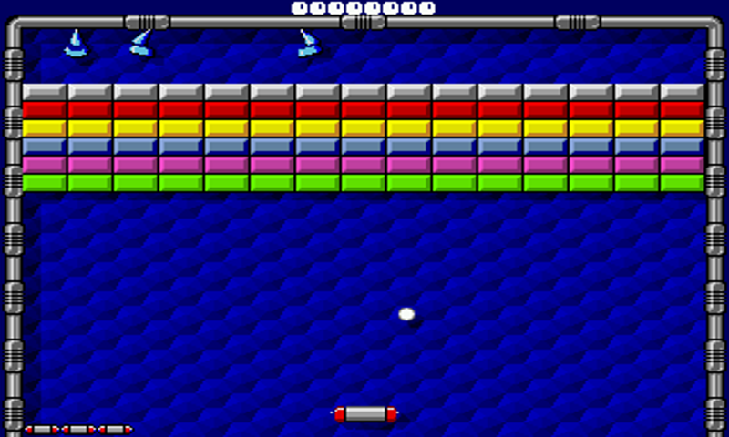 arkanoid flash