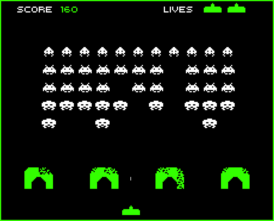 space invaders free
