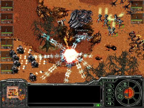 Juegos RTS de Estrategia en 2D Shatteredgalaxy1