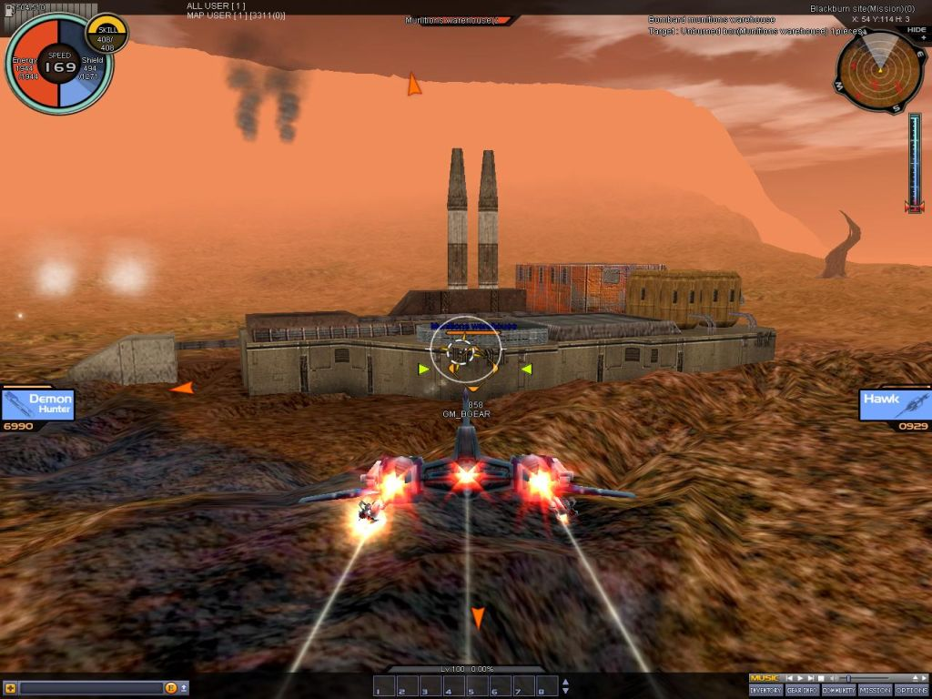 space games online