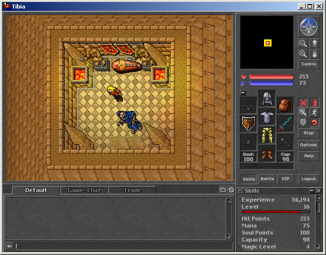 Tibia - Online Game of the Week