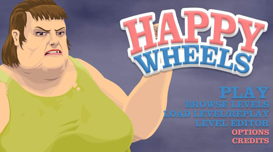 ^Happy Wheels