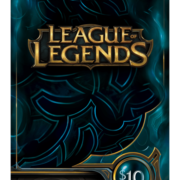 $10 league of legends card