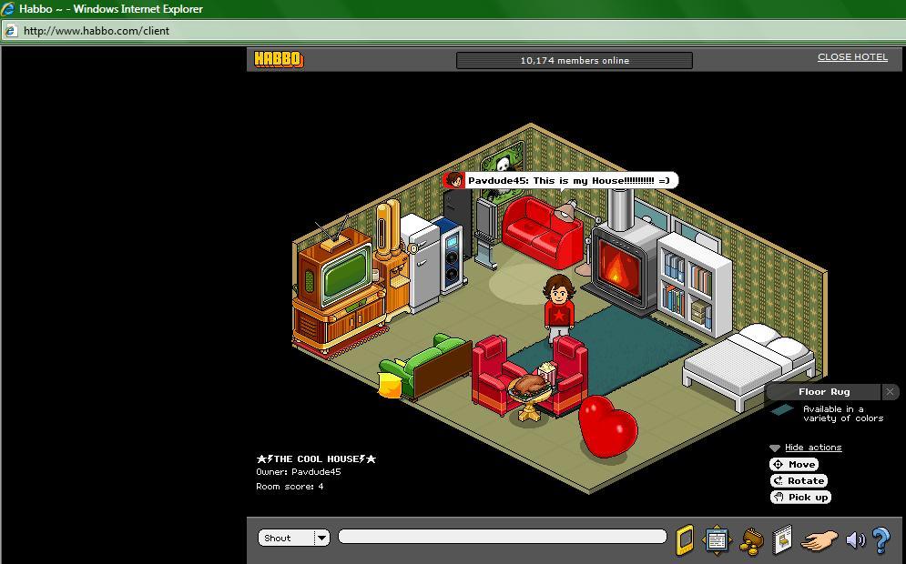 chat room bazaar halloween