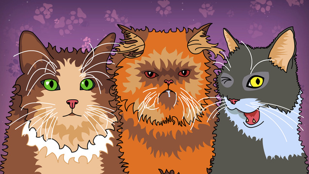 Your cat dating sim