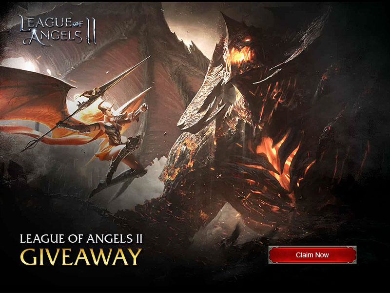 League of Angels II Gift Code Giveaway