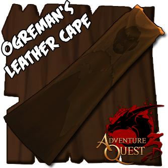GameOgre AQ3D Leather Cape